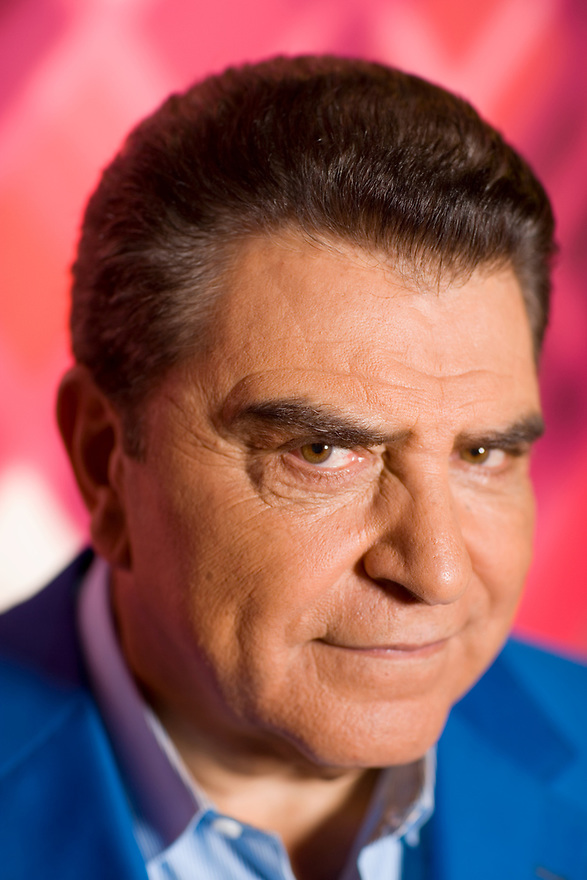 Don Francisco, host of Sabado Gigante, photographed on the set of his TV show at Univision Studios in Miami April 21, 2006 for Florida Trend.