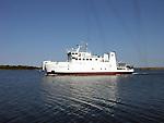Ferry Boat Skiftet in Åland, Finland