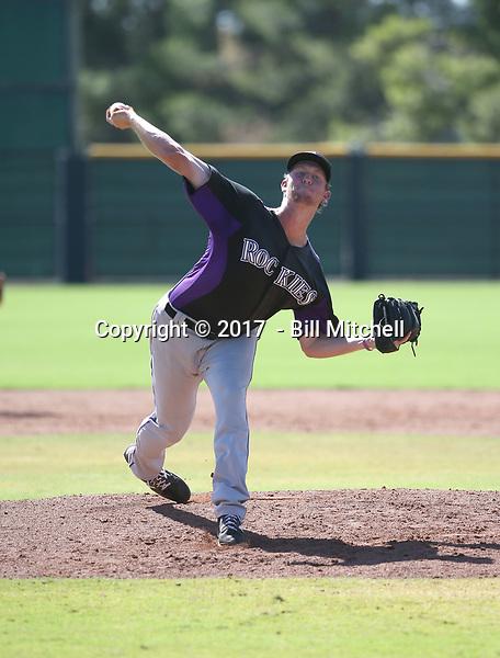 Robert Tyler - 2017 AIL Rockies (Bill Mitchell)