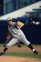 February 21 2010: Troy Watson of Cal. St. Long Beach during game against Cal. St. Fullerton at Goodwin Field in Fullerton,CA.  Photo by Larry Goren/Four Seam Images