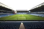 25.07.2020 Rangers v Coventry City: Ibrox behind closed doors
