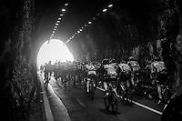 La galleria di Capo Noli tunnel<br /> <br /> 108th Milano - Sanremo 2017