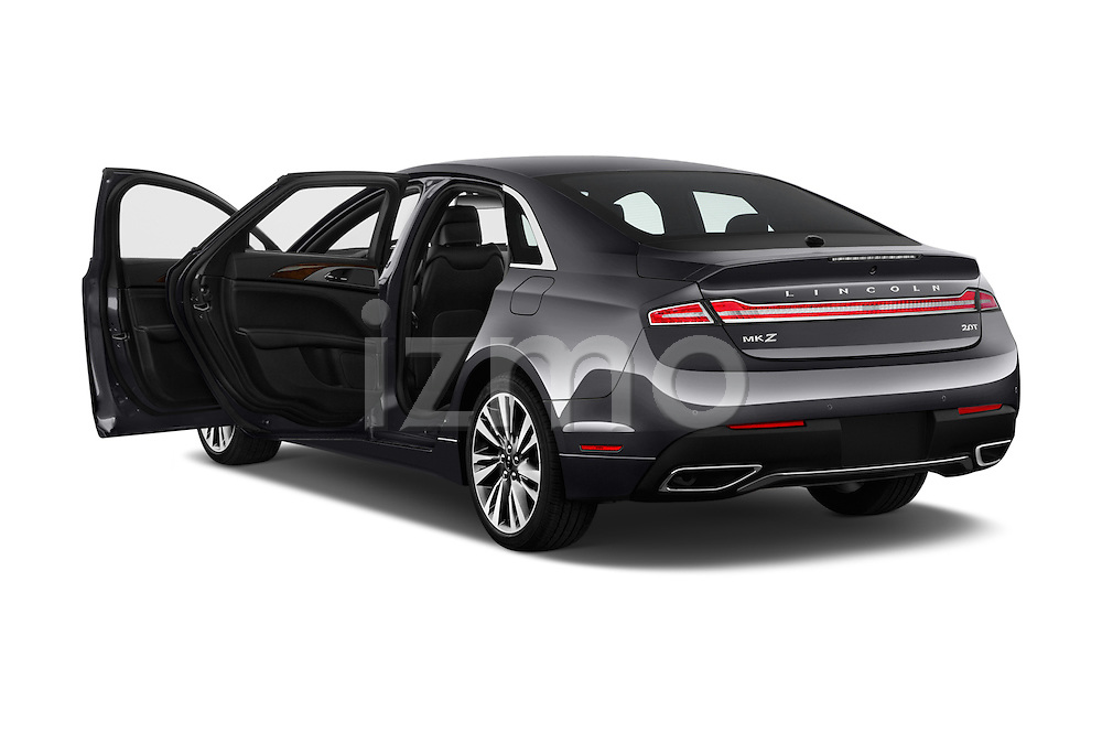 Car images of 2018 Lincoln MKZ Reserve 4 Door Sedan Doors