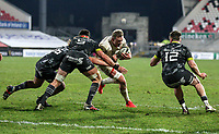 2nd January 2021   Ulster vs Munster <br /> <br /> Kieran Treadwell during the PRO14 Round 10 clash between Ulster Rugby and Munster Rugby at the Kingspan Stadium, Ravenhill Park, Belfast, Northern Ireland. Photo by John Dickson/Dicksondigital
