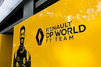 13th March 2020; Melbourne Grand Prix Circuit, Melbourne, Victoria, Australia; Formula One, Australian Grand Prix, Practice Day; Renault garage