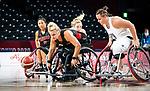 Kathleen Dendeneau, Tokyo 2020 - Wheelchair Basketball // Basketball en fauteuil roulant. <br /> Canada takes on Great Britain in the preliminary round // Le Canada affronte la Grande-Bretagne au tour préliminaire. 25/08/2021.
