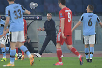 Hans Dieter Flick, coach of FC Bayern, during the Champions League round of 16 football match between SS Lazio and Bayern Munchen at stadio Olimpico in Rome (Italy), February, 23th, 2021. Photo Andrea Staccioli / Insidefoto