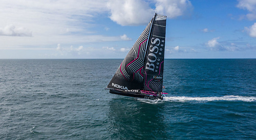 The Rolex Fastnet race has played a major part in Alex Thomson's career and he will compete with HUGO BOSS | Credit: Alex Thomson Racing