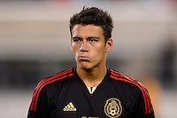 Mexico defender Hector Moreno (15). Mexico defeated the Ivory Coast 4-1 during an international friendly at MetLife Stadium in East Rutherford, NJ, on August 14, 2013.