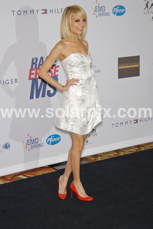 """**ALL ROUND PICTURES FROM SOLARPIX.COM**.**SYNDICATION RIGHTS FOR UK, SPAIN, PORTUGAL, AUSTRALIA, S.AFRICA & DUBAI (U.A.E) ONLY**. Nicole Richie  at the 14th Annual Race to Erase MS Themed """"Dance to Erase MS"""" - Hyatt Regency Century Plaza in Century City, California USA.JOB REF: 3698    PHZ    DATE: 13.4.07.**MUST CREDIT SOLARPIX.COM OR DOUBLE FEE WILL BE CHARGED* *UNDER NO CIRCUMSTANCES IS THIS IMAGE TO BE REPRODUCED FOR ANY ONLINE EDITION WITHOUT PRIOR PERMISSION*"""