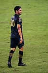 Carlos Vela of Los Angeles FC (USA) in action during their CONCACAF Champions League Semi Finals match against Club America (MEX) at the Orlando's Exploria Stadium on 19 December 2020, in Florida, USA. Photo by Victor Fraile / Power Sport Images