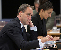 Andre Ryan at the Inquiry Commission into the appointment process for judges, more well know as the Commission Bastarache, September 16, 2010 in Quebec City.<br /> <br /> PHOTO :  Francis Vachon - Agence Quebec Presse