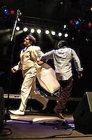 Roma, 19/6/2004:Fiesta!<br /> Concerto di Latte e i Suoi Derivati, Lillo e Greg<br /> <br /> Photo: Samantha Zucchi Insidefoto