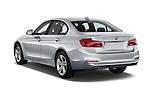 Car pictures of rear three quarter view of 2018 BMW 3-Series 330e-iPerformance 4 Door Sedan Angular Rear