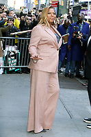NEW YORK, NY- October 28: Queen Latifah at Good Morning America promoting ABC's The Little Mermaid Live! in New York City on October 28 , 2019. Credit: RW/MediaPunch