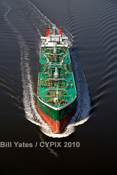 Groton fuel tanker Port of Jacksonville - JaxPort and Maritime Operations on the St. Johns River helicopter aerial