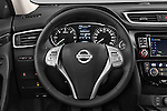 Car pictures of steering wheel view of a 2014 Nissan X-TRAIL Tenka 5 Door SUV 2WD Steering Wheel