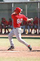 Nick Farnsworth - Los Angeles Angels, 2009 Instructional League.Photo by:  Bill Mitchell/Four Seam Images..