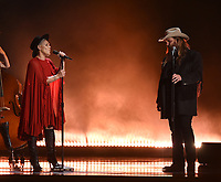 NASHVILLE, TN - NOVEMBER 13: Pink and Chris Stapleton perform on the 53rd Annual CMA Awards at the Bridgestone Arena on November 13, 2019 in Nashville, Tennessee. (Photo by Frank Micelotta/PictureGroup)