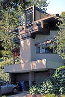 Rudolph Schindler: Tischler House, 175 Greenfield Ave., Westwood, Los Angeles. 1949