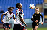 Bolton Wanderers' Nathan Delfouneso looks on <br /> <br /> Photographer Andrew Kearns/CameraSport<br /> <br /> The EFL Sky Bet League Two - Bolton Wanderers v Oldham Athletic - Saturday 17th October 2020 - University of Bolton Stadium - Bolton<br /> <br /> World Copyright © 2020 CameraSport. All rights reserved. 43 Linden Ave. Countesthorpe. Leicester. England. LE8 5PG - Tel: +44 (0) 116 277 4147 - admin@camerasport.com - www.camerasport.com