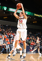 No. 21 Virginia rallied for a 72-64 win over St. Bonaventure Monday night at John Paul Jones Arena. After trailing by one point at halftime, the Cavaliers had a game-changing 18-6 second-half run that gave them the victory.. Photo/Andrew Shurtleff
