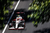 4th June 2021; Baku, Azerbaijan; Free practise sessions;  99 GIOVINAZZI Antonio ita, Alfa Romeo Racing ORLEN C41, action during the Formula 1 Azerbaijan Grand Prix 2021 at the Baku City Circuit, in Baku, Azerbaijan