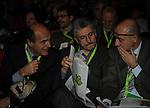 MASSIMO D'ALEMA, PIERLUIGI BERSANI E NICOLA LATORRE<br /> ASSEMBLEA NAZIONALE PARTITO DEMOCRATICO<br /> FIERA DI ROMA - 2009