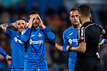Francisco Molinero Calderon of Getafe CF reacts during the La Liga 2017-18 match between Getafe CF and Athletic Club at Coliseum Alfonso Perez on 19 January 2018 in Madrid, Spain. Photo by Diego Gonzalez / Power Sport Images