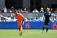 SAN JOSE, CA - JUNE 8: Daniel Vega #17 during a game between FC Dallas and San Jose Earthquakes at Avaya Stadium on June 8, 2019 in San Jose, California.