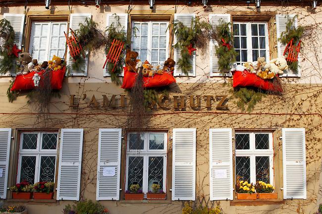 festive restaurants in Strasbourg at Christmas