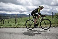 later race winner Annemiek Van Vleuten (NED/Mitchelton Scott) up the Côte de La Redoute.<br /> <br />  3th Liège-Bastogne-Liège-Femmes 2019 (1.WWT)<br /> 1 Day Race: Bastogne – Liège 138,5km<br /> <br /> ©kramon