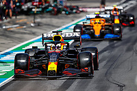 July 3rd 2021; F1 Grand Prix of Austria, qualifying sessions;  VERSTAPPEN Max (ned), Red Bull Racing Honda RB16B, NORRIS Lando (gbr), McLaren MCL35M, VERSTAPPEN Max (ned), Red Bull Racing Honda RB16B during the  2021 Austrian Grand Prix, 9th round of the 2021 FIA Formula One World Championship