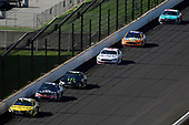 Monster Energy NASCAR Cup Series<br /> Brickyard 400<br /> Indianapolis Motor Speedway, Indianapolis, IN USA<br /> Sunday 23 July 2017<br /> Daniel Suarez, Joe Gibbs Racing, STANLEY Toyota Camry, Kasey Kahne, Hendrick Motorsports, Chevrolet SS and Kurt Busch, Stewart-Haas Racing, Ford Fusion<br /> World Copyright: Nigel Kinrade<br /> LAT Images