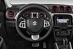 Car pictures of steering wheel view of a 2018 Suzuki Vitara GLX  S 5 Door SUV