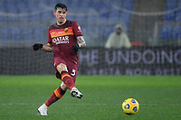 Roger Ibanez of AS Roma in action during the Serie A football match between AS Roma and UC Sampdoria at Olimpico stadium in Roma (Italy), January 3rd, 2021. Photo Andrea Staccioli / Insidefoto