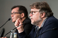 "Director of Sitges, Angel Sala and mexican director Guillermo del Toro during press conference of presentation of film 'The Shape of Water"" during Sitges Film Festival in Barcelona, Spain October 05, 2017. (ALTERPHOTOS/Borja B.Hojas) /NortePhoto.com /NortePhoto.com"