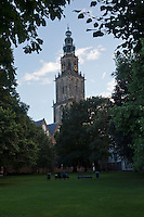 11-sept.-2013,Netherlands, Groningen,  Martini Plaza, Tennis, DavisCup Netherlands-Austria, Martini tower   <br /> Photo: Henk Koster