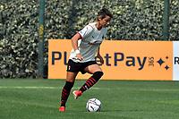 11th September 2021;  Mirko Fersini Stadium, Rome, Italy ; Serie A Womens championship football, Lazio versus Milan ; Valentina Giacinti of Milan