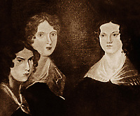 Anne Emily and Charlotte Bronte Victorian period
