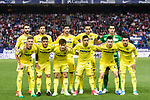 Villarreal CF Team poses for photos during the La Liga match between Atletico de Madrid vs Villarreal CF at the Estadio Vicente Calderon on 25 April 2017 in Madrid, Spain. Photo by Diego Gonzalez Souto / Power Sport Images