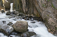 Waterfall and river at Bursa, Turkey.