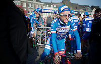 former winner Enrico Gasparotto (ITA/Wanty-Groupe Gobert) to the start <br /> <br /> 50th Amstel Gold Race 2015