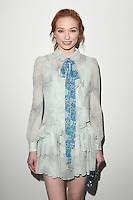 Eleanor Tomlinson<br /> at the Bora Aksu AW17 show as part of London Fashion Week AW17 at 180 Strand, London.<br /> <br /> <br /> ©Ash Knotek  D3230  17/02/2017