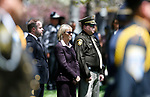 Nevada Secretary of State Barbara Cegavske attends the 22nd annual Nevada Law Enforcement Officers Memorial ceremony in Carson City, Nev., on Thursday, May 2, 2019. <br /> Photo by Cathleen Allison/Nevada Momentum