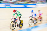 Riders compete on the Women's Madison 30km Final during the 2017 UCI Track Cycling World Championships on 15 April 2017, in Hong Kong Velodrome, Hong Kong, China. Photo by Marcio Rodrigo Machado / Power Sport Images