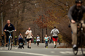 Brooklyn, New York<br /> March 20, 2020<br /> 12:54 PM<br /> <br /> Brooklyn under the coronavirus pandemic. <br /> <br /> People of every age crowing Prospect Park in Park Slope.