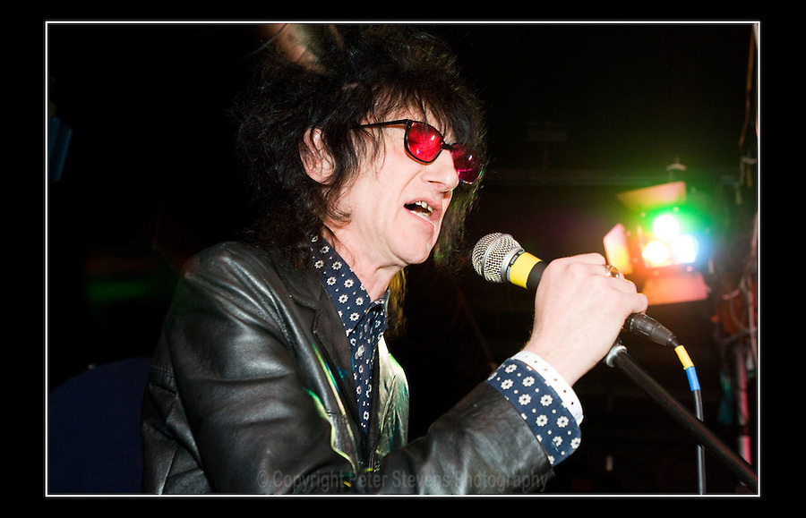 John Cooper Clarke - Carbon Casino VII - Inn On The Green, Portobello, London - 29th February 2008