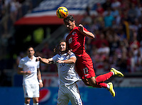 Harrison, NJ - Sunday, June 1, 2014: The USMNT defeated Turkey 2-1 during an international friendly at Red Bull Arena.