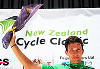 Tour sprint champion Ian Bibby after stage five of the 2018 NZ Cycle Classic UCI Oceania Tour (Masterton criterium) in Masterton, New Zealand on Friday, 21 January 2018. Photo: Dave Lintott / lintottphoto.co.nz